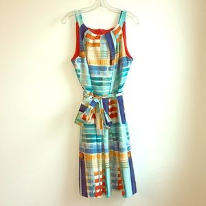 Pretty artists mosaic dress